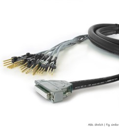 sommer cable connection cable gas323lac sub d 25 pol female ghielmetti fct tascam standard [ 1040 x 1040 Pixel ]