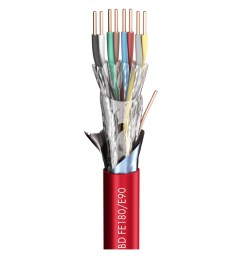 fire alarm cable logicable safety bd hm1 frnc red 2 x 0 50 mm x number of pairs [ 1040 x 1040 Pixel ]