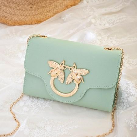 green mini bag