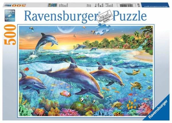 Bucht der Delfine 500p-500 Teile | Ravensburger Spielverlag