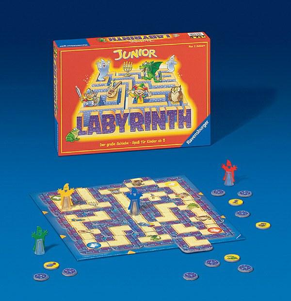 Junior Labyrinth D-Lustige Kinderspiele | Ravensburger Spielverlag