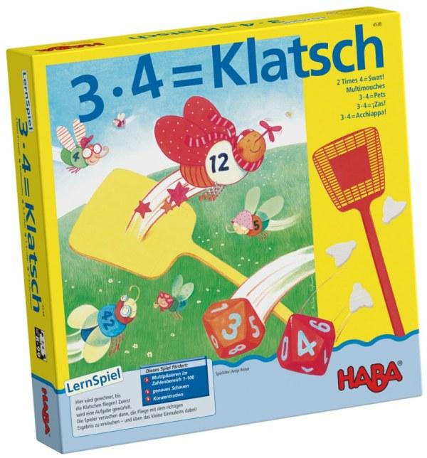 3 x 4 = Klatsch | Haba