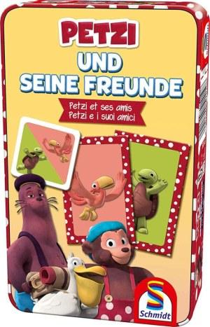 Petzi, Petzi und seine Freund | S,S,F, Schmidt Spiele