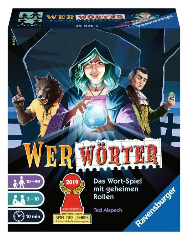 Wer'wörter' D-Ravensburger® Kartenspiele | Ravensburger Spielverlag