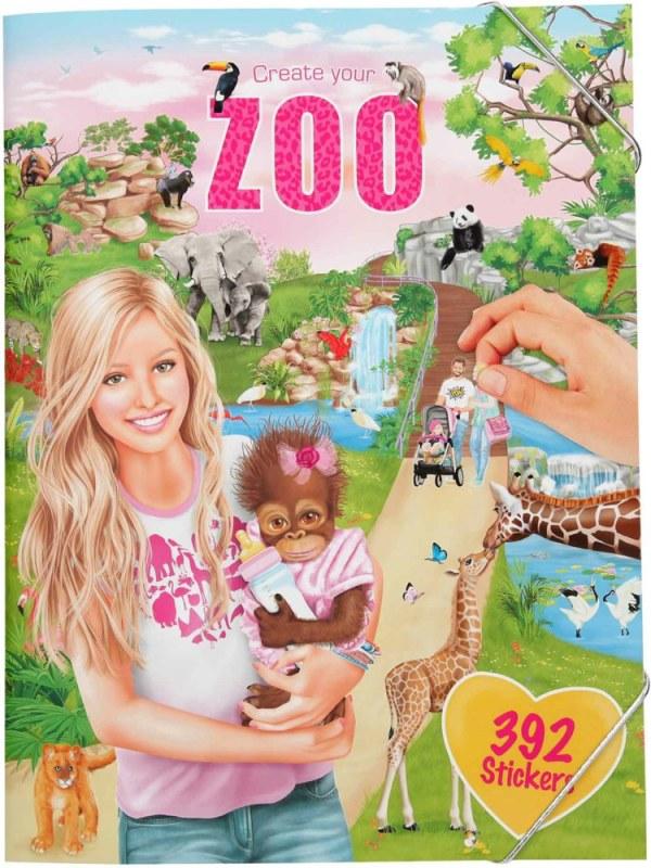 Create your ZOO, Malbuch mit   Depesche