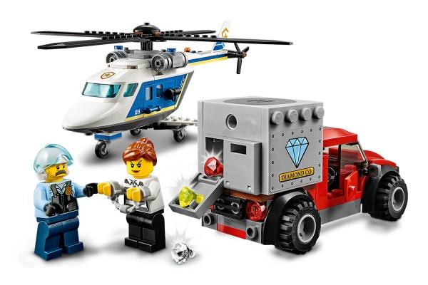 LEGO® City 60243 Verfolgungsjagd mit dem Polizeihubschrauber | Lego