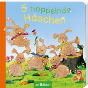 5 hoppelnde Häschen   Ars Edition