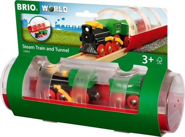 Tunnel Box Dampflokzug | BRIO