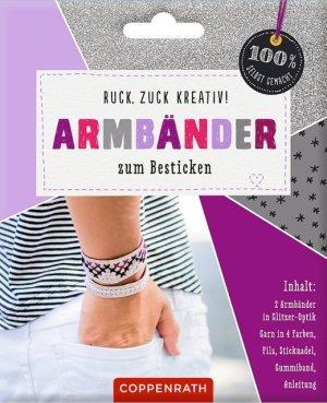Armbänder z, Besticken: Glitz | Coppenrath