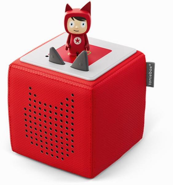 Toniebox Starterset Rot (Kreativ-Tonie) | Tonies-Boxine Sales DAB