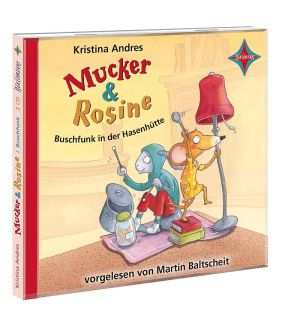 Andres,Mucker & Rosine 3,Buschfunk CD   Beltz