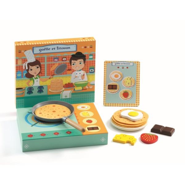 Rollenspiel Kinderküche: Gaëlle et Titouan * | Djeco