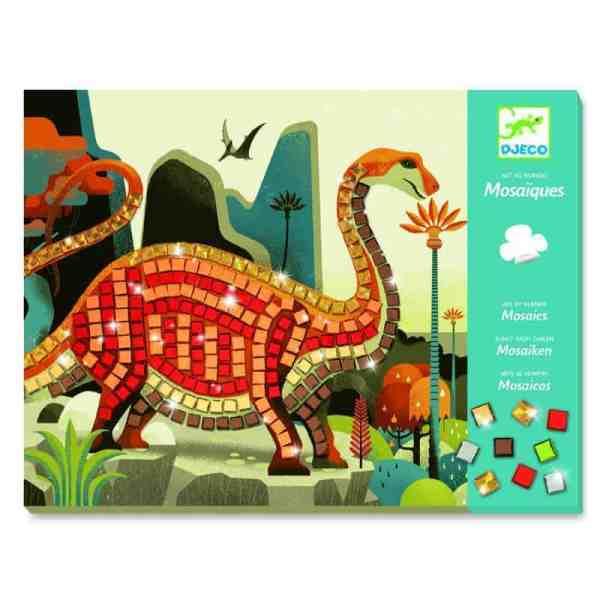 Mosaike: Metallische Dinosaurier | Djeco