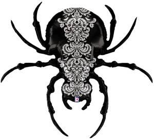 Pretty Scary Spider 119 cm/ 47 | Karaloon Ballon GmbH