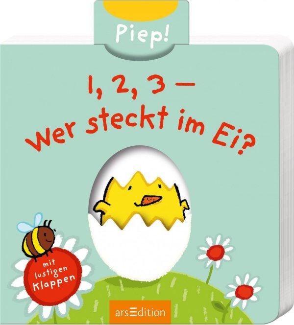 1, 2, 3-Wer steckt im Ei? | Ars Edition