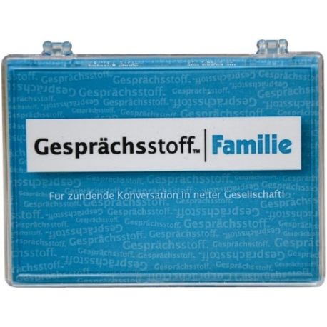 Gesprächsstoff Familie | Pegasus Spiele