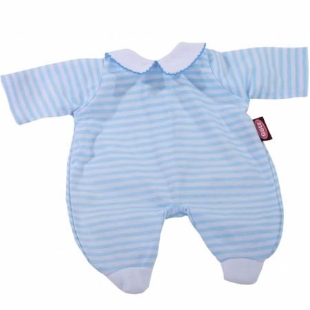 BC Anzug blue stripes 30cm | Götz