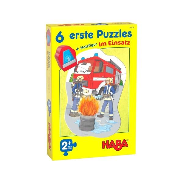 6 erste Puzzles - Im Einsatz | Haba