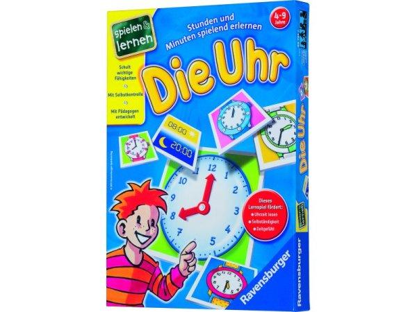 Die Uhr - Lernspiel   Idee + Spiel