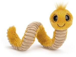 Wiggly Worm Yellow | Jellycat