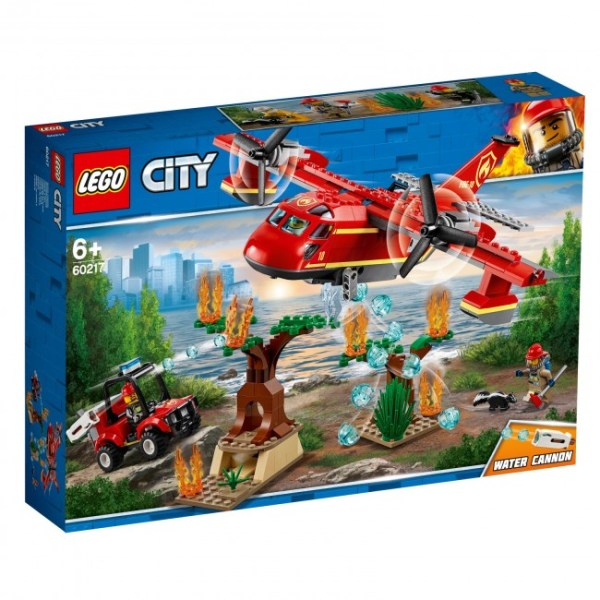 LEGO® City 60217 Löschflugzeug der Feuerwehr | Lego