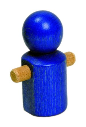 MB Laufmännchen blau   NIC Toys