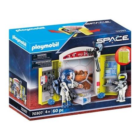 """Spielbox """"In der Raumstation   Playmobil"""