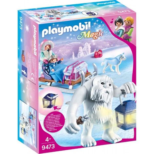Schneetroll mit Schlitten | Playmobil