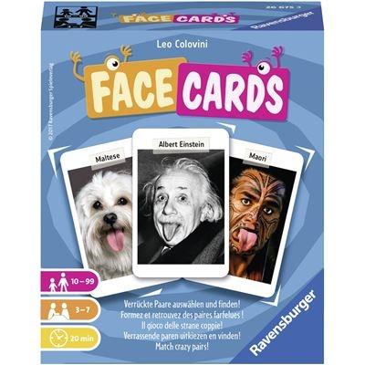 Facecards D/F/I/EN/NL-Ravensburger® Kartenspiele | Ravensburger Spielverlag
