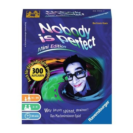 Nobody is perfect - Mini D-Ravensburger® Kartenspiele | Ravensburger Spielverlag