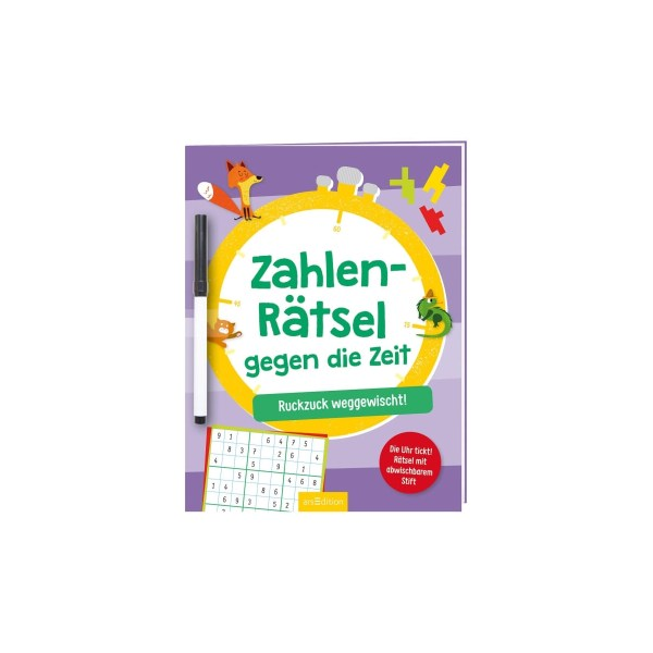 ZahlenRätsel geg,d,Zeit | Ars Edition