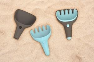 Raki Bungee Grey + Vintage Blue (counter display 6pcs) Sandspielzeug   Manchild