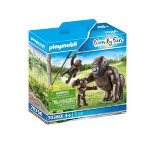 Gorilla mit Babys | Playmobil