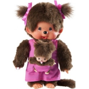 Monchhichi - Mother Care Pink | Idee + Spiel