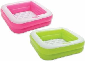 Baby Pool Play Box, 2f. sort. 85x85x23cm | Iden