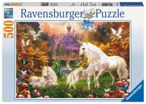 Zauberhafte Einhörner 500p-500 Teile   Ravensburger Spielverlag