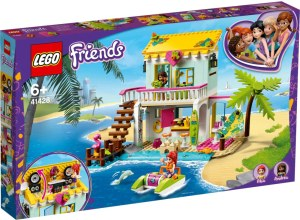 LEGO® Friends 41428 Strandhaus mit Tretboot | Lego