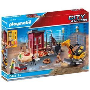 Minibagger mit Bauteil | Playmobil