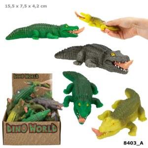 Dino World Quetsch Krokodil | Depesche