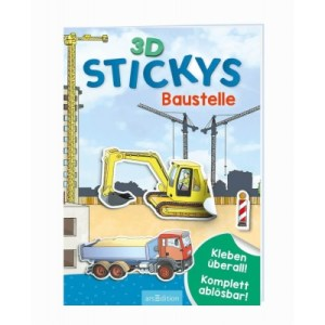 3D-Stickys: Baustelle | Ars Edition