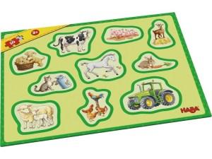 M.erst.Rahmenpuzzles-Bauernh. | Haba