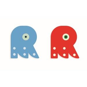 R - Holzbuchstabe | Djeco
