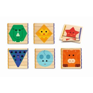 Basic: Puzzles Basic | Djeco