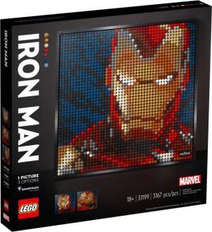 Lego Art Marvel Studios Iron Man Kunstbild | Lego