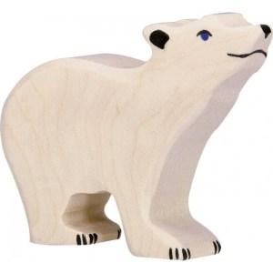 Eisbär, klein, Kopf hoch | Gollnest