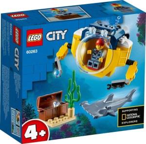 LEGO® City 60263 Mini-U-Boot für Meeresforscher   Lego