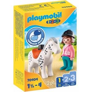 Reiterin mit Pferd | Playmobil
