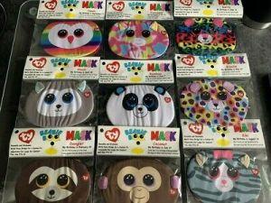 Owen Owl Face Mask   Ty UK