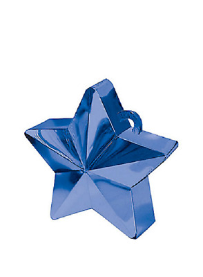 Ballongewicht Stern blau 150 g / 5,3 oz | Amscan