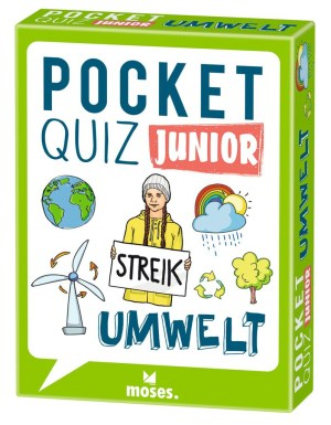 Pocket Quiz junior Umwelt | Moses